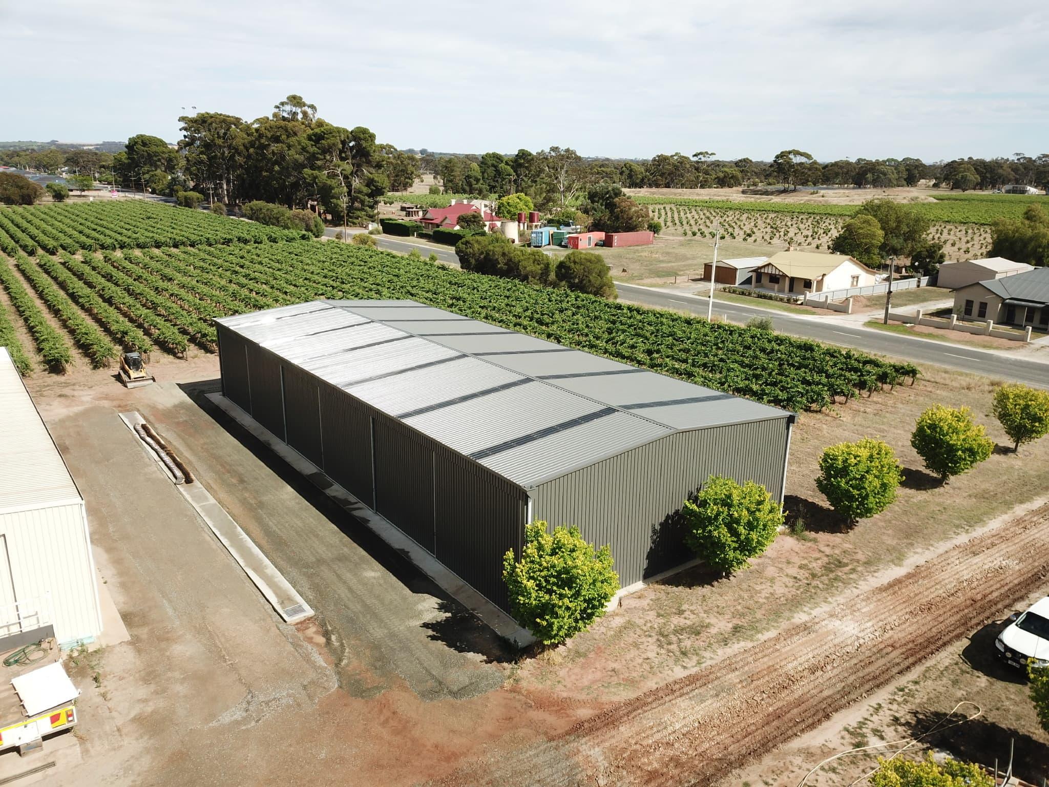 Vineyard Workshop / Machinery Sheds