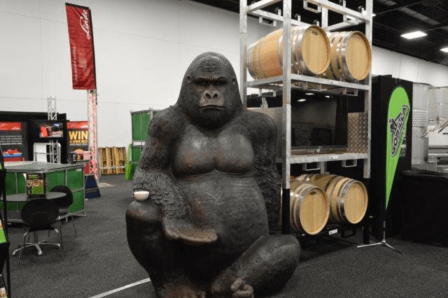 3 days with a BIG Gorilla at WineTech 2015